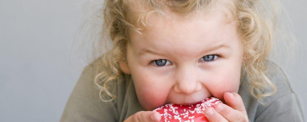 kind suiker bewerkte voeding vol hoofd geraffineerde suikers