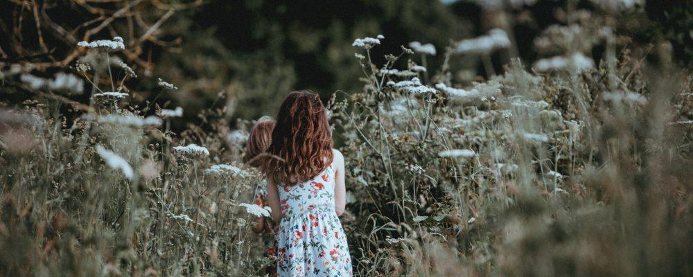kinderen bloemen